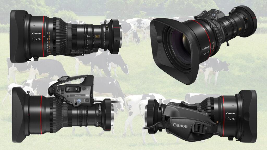 Canon 10×16 KAS S 8K UHD Portable Zoom Lens