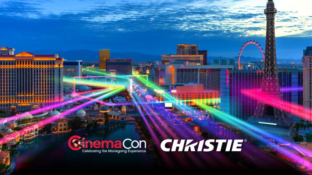 CinemaCon Las Vegas Laser Scene