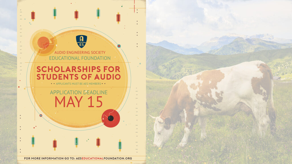 AES Scholarships for Students of Audio May 15