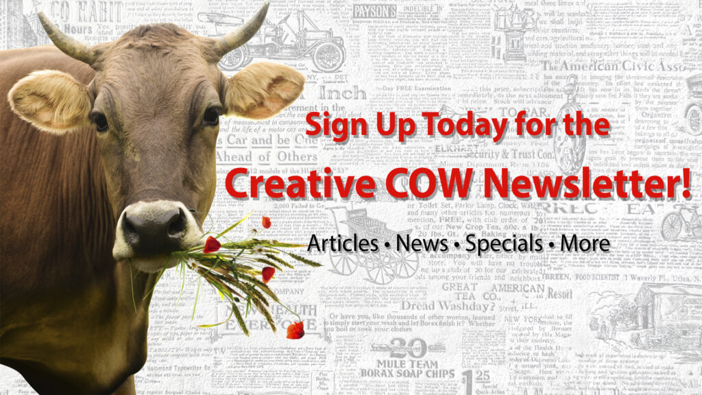 Sign up to the Creative COW Newsletter