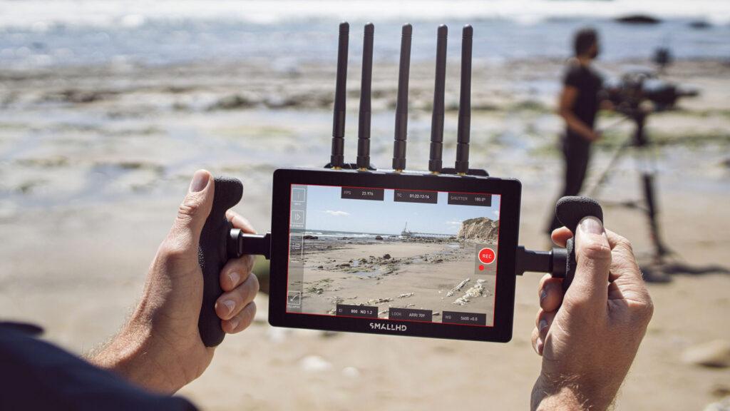 Teradek Bolt 4K Tx Monitor Module Beach Photos