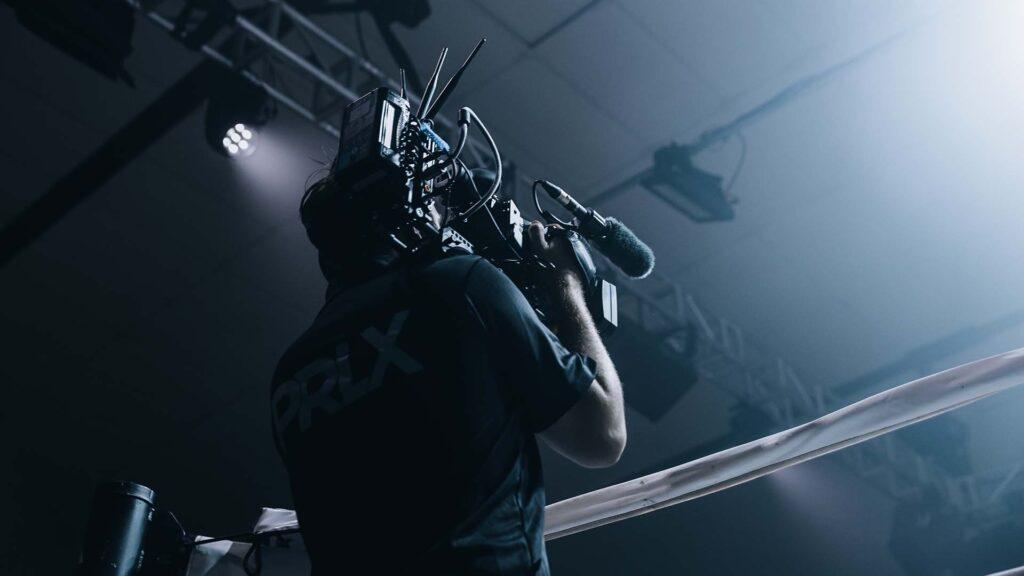 AJA Cameraman