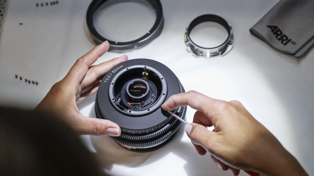 ARRI Rental Moviecam spherical manufacturing