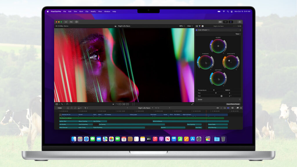 Apple MacBook Pro 16 inch Final Cut Pro